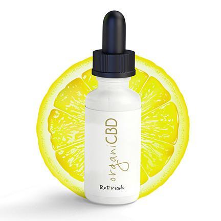 organi(オルガニ)CBD オイル : レモン  CBD1000mg配合 30ml